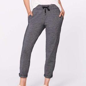 Lulu 🍋 grey on the fly sweatpants